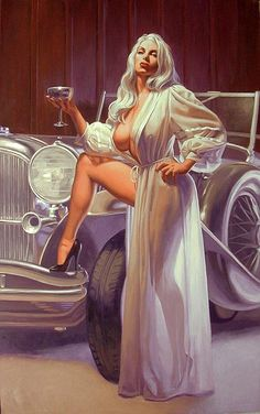#art #girls #retro #cars #posters