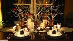Winter Centerpieces, Table Centerpieces, Homestead Gardens, Fall Planters, Table Centers, Winter Garden, Xmas Decorations, Urn, Garden Inspiration
