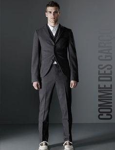 Comme des Garçons by Guzman #portrait #photography #people #advertising #commercial