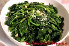 韓國菜,涼拌菠菜,Sigeumchi Namul