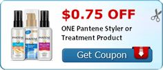 Coupon $0.75 off ONE Pantene Styler or Treatment Product http://azfreebies.net/coupon-0-75-one-pantene-styler-treatment-product/