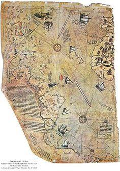 Piri Reis map - Wikipedia