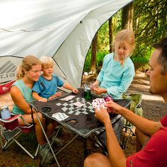 Kelty Soft Top Table for playing games etc. while camping