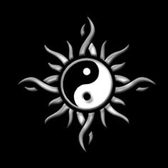 ☯ Yin and Yang ☯ Ying Und Yang Tattoo, Ying Et Yang, Arte Yin Yang, Yin Yang Art, Yin Yang Tattoos, Kawaii Drawings, Easy Drawings, Pencil Drawings, Harry Tattoos