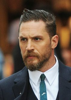 Tom Hardy looking fierce!