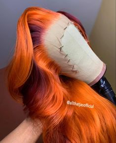 Colored Weave Hairstyles, Creative Hair Color, Natural Hair Styles, Long Hair Styles, Dope Hairstyles, Hair Laid, Aesthetic Hair, Lace Front Wigs, Lace Wigs