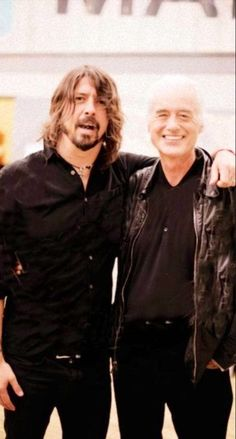Dave & Jimmy.. love Foo Fighters!