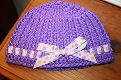 CroCreations: Tutorial for the Hat with a Bow