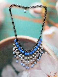 Statement jewelry by JuNaomi on Etsy Moonlight