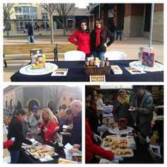 Tree Lighting event at Smithhaven Mall @smithhavenmall - giving out #burger samples! #BBPsmithtown #treelighting