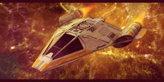 Star Wars Koensayr Fighter/Bomber 3D by AdamKop.deviantart.com