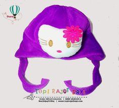 ANIMAL HAT HELLO KITTY TA16merupakan topi anak yang dibuat dengan desain menarik menggunakan mesin dan bahan-bahan pilihan sehingga kualitas bagus