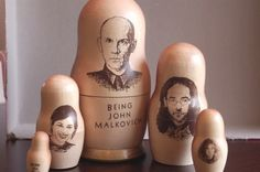 Being John Malkovich Nesting Doll. Apparently came with the VHS tape special packaging back in the day.