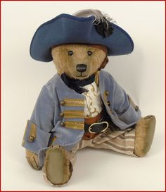 .Available Now The Dashing Pirate The Bear Shop Exclusive Mohair Featuring velvet and silk clothing with several antique accessories