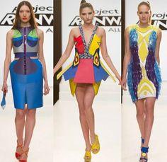 Elena Jeffrey Viktor designs Project Runway All Stars Season 3 Episode 4