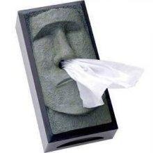 retro 51 tiki head tissue box cover