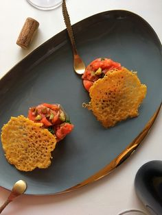 Recept: Tomatentartaar – Tasty Food SoMe Small Bbq, Fusion Food, Cook Off, Vegetable Dishes, Tapas, Dairy Free, Vegetarian Recipes, Veggies, Appetizers