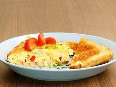 Gemüse-Omelett aus dem Ofen - so geht's | LECKER