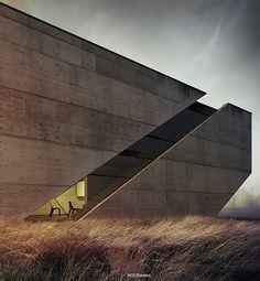 Single family house. Conceptual design.