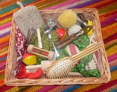 Treasure Baskets for Babies   Grown at Home