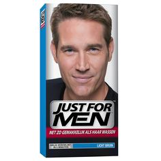 Just For Men Light Brown - https://www.transfashions.com/en/beauty-health/hair-care/hair-colors/just-for-men.html #JustForMen Light Brown is only focused on gray hair. It replaces the gray subtle shades that match your natural #haircolor.   Just for Men Light Brown