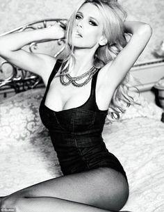 41 yr old Claudia Shiffer in new Guess campaign - still looking phenomenal!