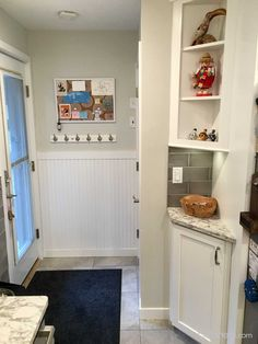Classic White Kitchen with Corner Sink Corner Sink Kitchen, Kitchen Cabinets, Corner Cabinets, Discount Cabinets, Classic White Kitchen, Cabinet Companies, Small Space Solutions, Easy Diy Projects
