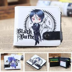 Men Women Long Wallet My Hero Academia Holder Layers Wallet Button Purse Handbag