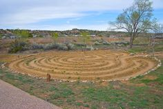 Frenchy Fields Park Labyrinth.  by wplynn, via Flickr