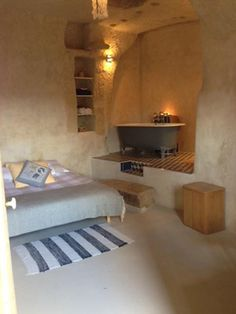 Renovated Cave in France - Before and Afters - Good Housekeeping, Airbnb