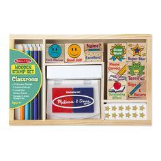 Melissa & Doug Classroom Stamp Set (#2400)