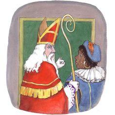 Sinterklaas is toch geen dief!, Melchior van Rijn : tekenaar en illustrator
