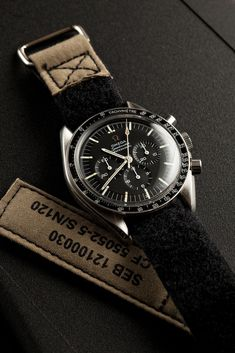 Vintage 1967 Omega Speedmaster...personally I don't wear watches, but if I did, this would be one to sport.