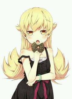 Kiss-shot Acerola-orion Heart-under-blade Pop Characters, Female Characters, Kawaii Anime Girl, Anime Art Girl, Anime Girls, Shinobu Oshino, Kiss Shot, Monogatari Series, Beautiful Anime Girl