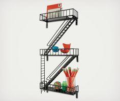 非常階段にそっくりな棚【urban shelf】