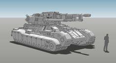ArtStation - Graendel Heavy Tank Concept, MuYoung Kim