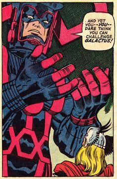 comicbookvault: THOR #169 (Oct. 1969) Art by Jack Kirby & George Klein Words by Stan Lee