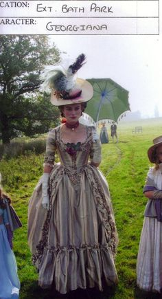 Keira Knightley as Georgiana, Duchess of Devonshire wearing the  Day  Dress , The 57fda1d1963