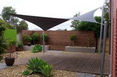 garden sail shade - Google Search