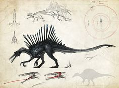 :Neurotenic spinosaurus: by Tapwing.deviantart.com on @DeviantArt