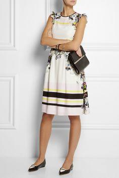 Erdem | Lelani printed silk dress | NET-A-PORTER.COM