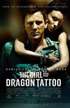 Daniel Craig & Lisbeth Salander - Mikael Blomkvist & Rooney Mara - The Girl with the Dragon Tattoo 2011