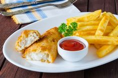 Przepis na rybę z frytkami Recipes With Fish And Shrimp, Shrimp Recipes, Fish And Chips, Seafood, French Toast, Cooking Recipes, Breakfast, Ethnic Recipes, Poland
