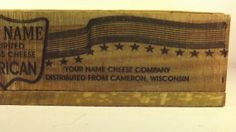American Cheese CratePersonalized. by GWCcakepans on Etsy, $25.00