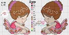 Cross Stitch Baby, Cross Stitch Patterns, Ballet Dancers, Plastic Canvas, Ballerina, Kids Rugs, Barcelona, Cross Stitch Love, Toddler Chart