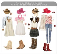 Fashion Friday - Senior Recipe What to Wear: Cowgirl Style!