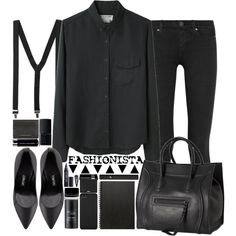 fashionista by chrylou on Polyvore featuring мода, rag & bone, Paige Denim, Tom Ford, CÉLINE, Burberry, Incase, MAKE UP FOR EVER, Lancôme and Illamasqua
