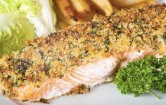 Ricette per la Vigilia di Natale: salmone gratinato al forno con pistacchi | Cambio cuoco