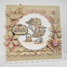 Amanda's Paper Palace: New Hat - Oldie but Goodie! Magnolia Blog, Stamps By Chloe, Wedding Day Wishes, Whimsy Stamps, Flower Doodles, Beautiful Handmade Cards, Card Maker, Card Sketches, Birthday Balloons