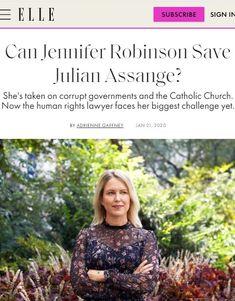 2020 Jan Can Jennifer Robinson Save Julian Assange? (Repeat of Jan 2019 article)